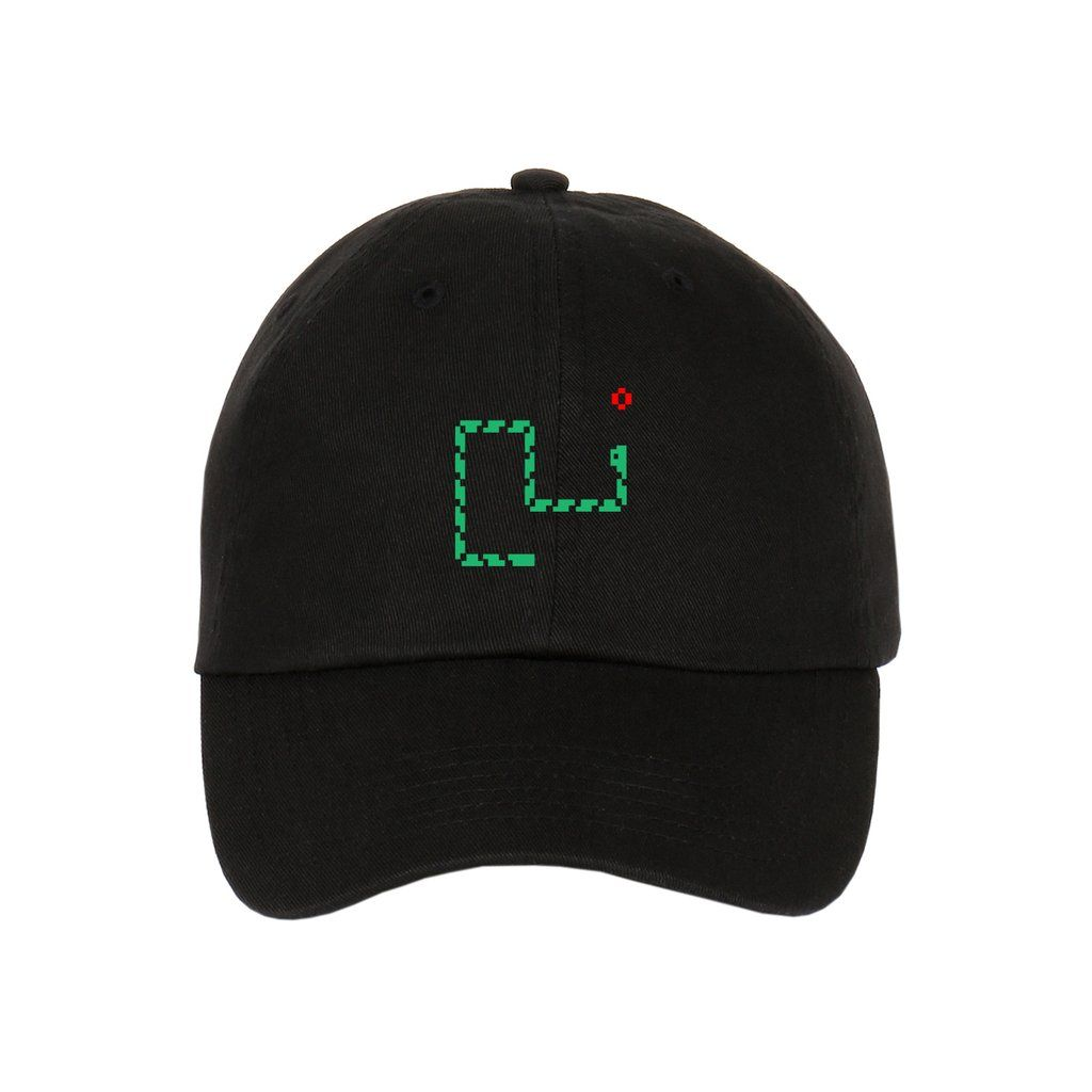 Retro Nokia Snake Game Unstructured Strapback Dad Hat  5e7063e7e855