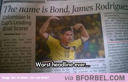 Worst Headline Ever…