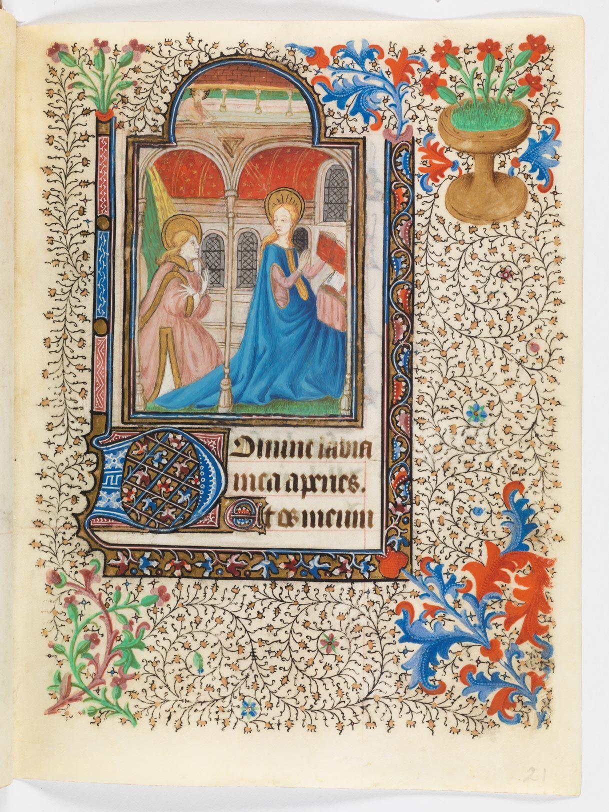 Utopia, armarium codicum bibliophilorum, Cod. 109: Livre d'heures pour l'usage d'Angers · vers 1429/30  (http://www.e-codices.unifr.ch/fr/list/one/utp/0109)
