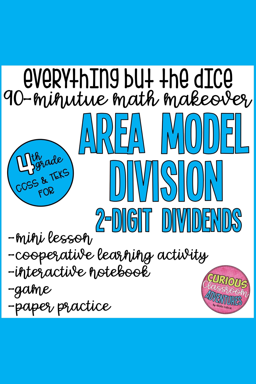 Area And Perimeter Interactive Math Unit For 4th Grade In