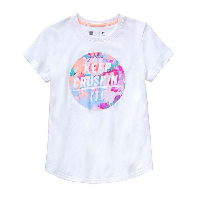 Girls Kids Youth Under Armour T-Shirt NEW Short Sleeve Black Gymnastic Top Large