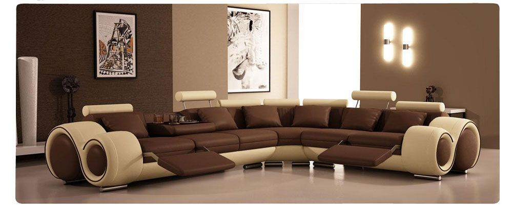 Buy High Quality Sofa Sets From Mumbai Modern Leather Sectional