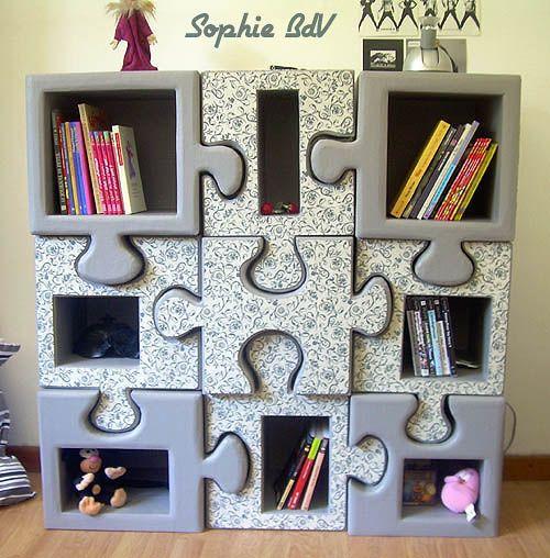 puzzle shelve