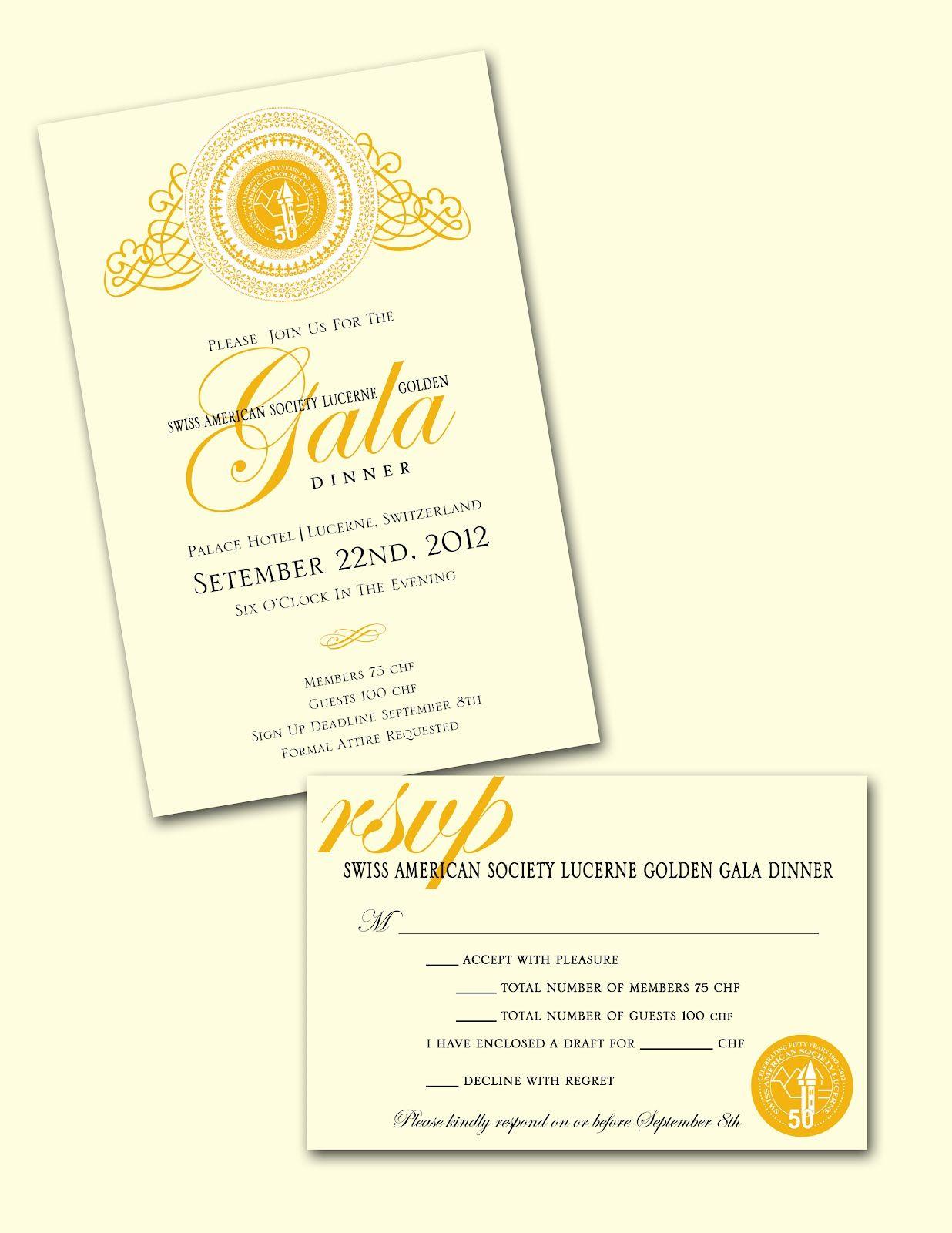 Invite  Gala