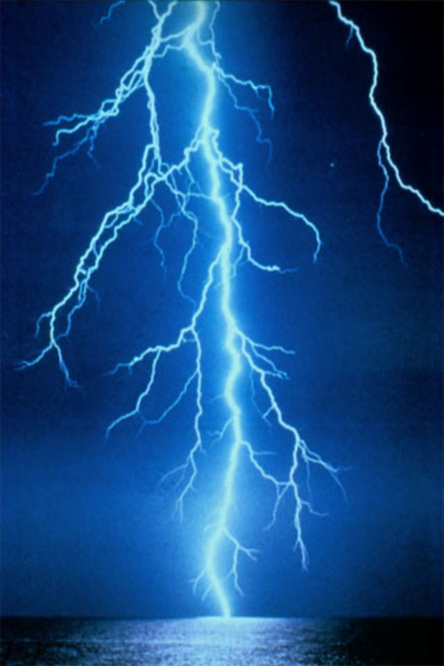 Lightning Storm Hd Desktop Wallpaper Widescreen High Blue Lightning Lightning Lightning Strikes