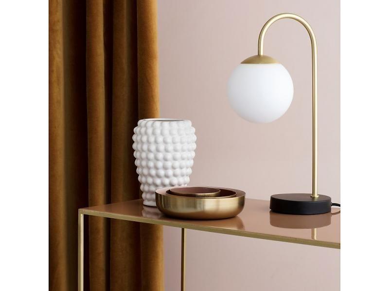 Broste Verre Lamp BrassAmélie's En Copenhagen Table Globe Caspa OilPXwkZuT