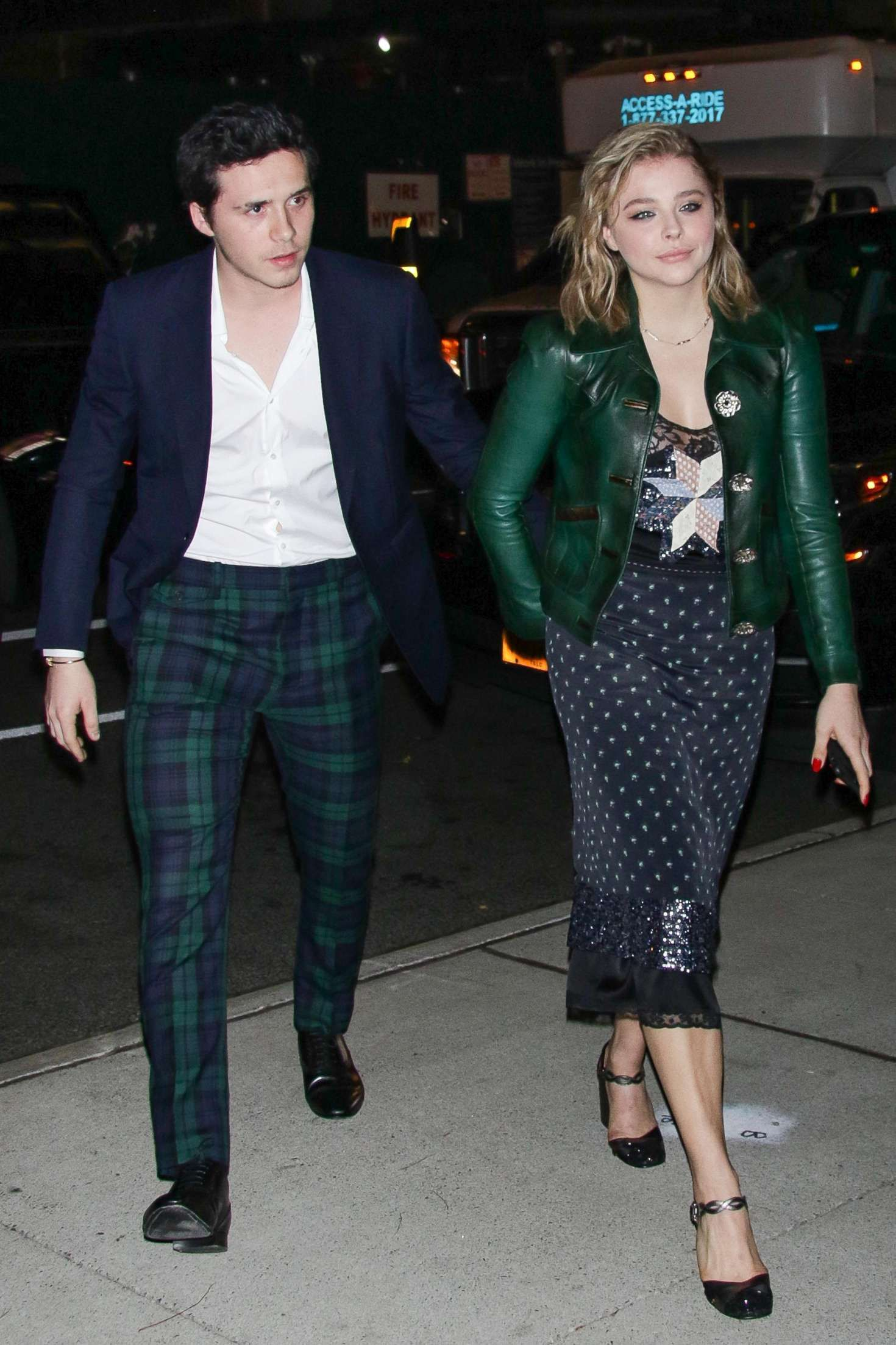07ec307a93a Chloe Moretz with Brooklyn Beckham out in NYC