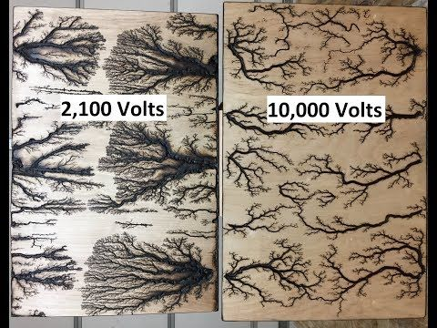 2 100 Volts 10 000 Volts Youtube Wood Burning Art Wood Burning Techniques Wood Art Projects