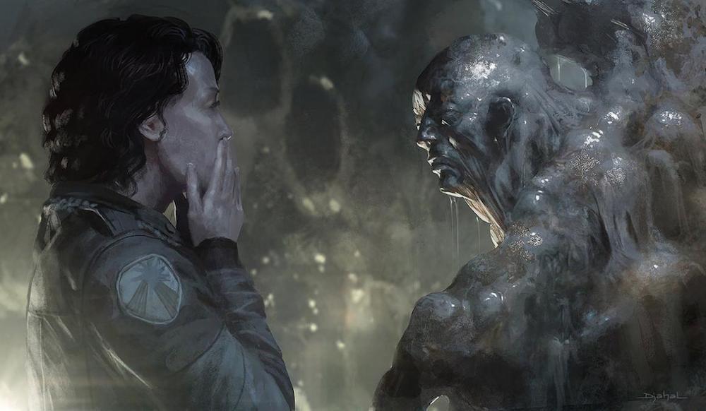 Galería: Estos eran los diseños de Neil Blomkamp para 'Alien 5' - CINEMANÍA