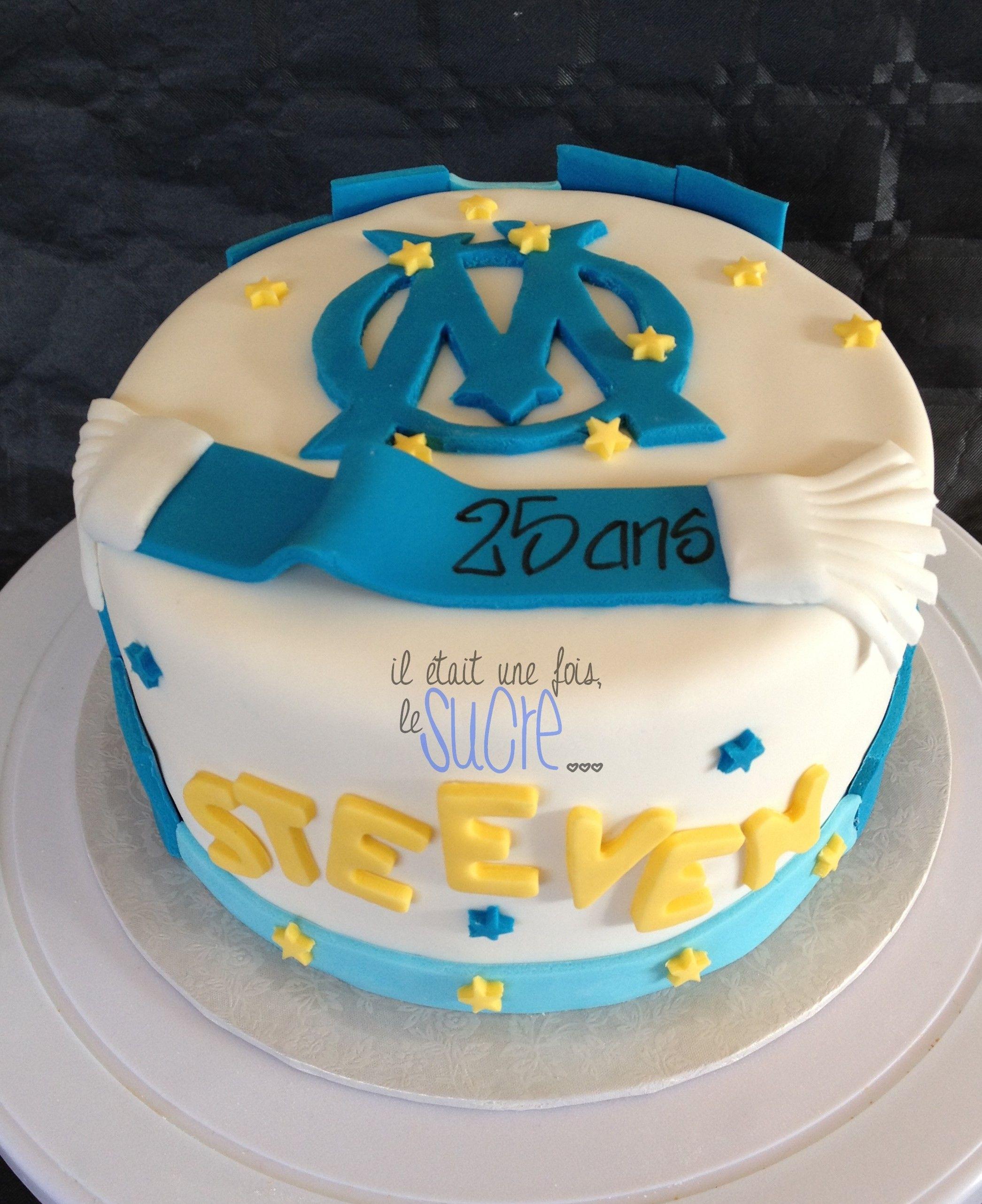 G Teau Olympique De Marseille Il Tait Une Fois My Sweet Cakes