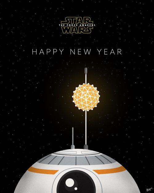 star wars and bb-8 image