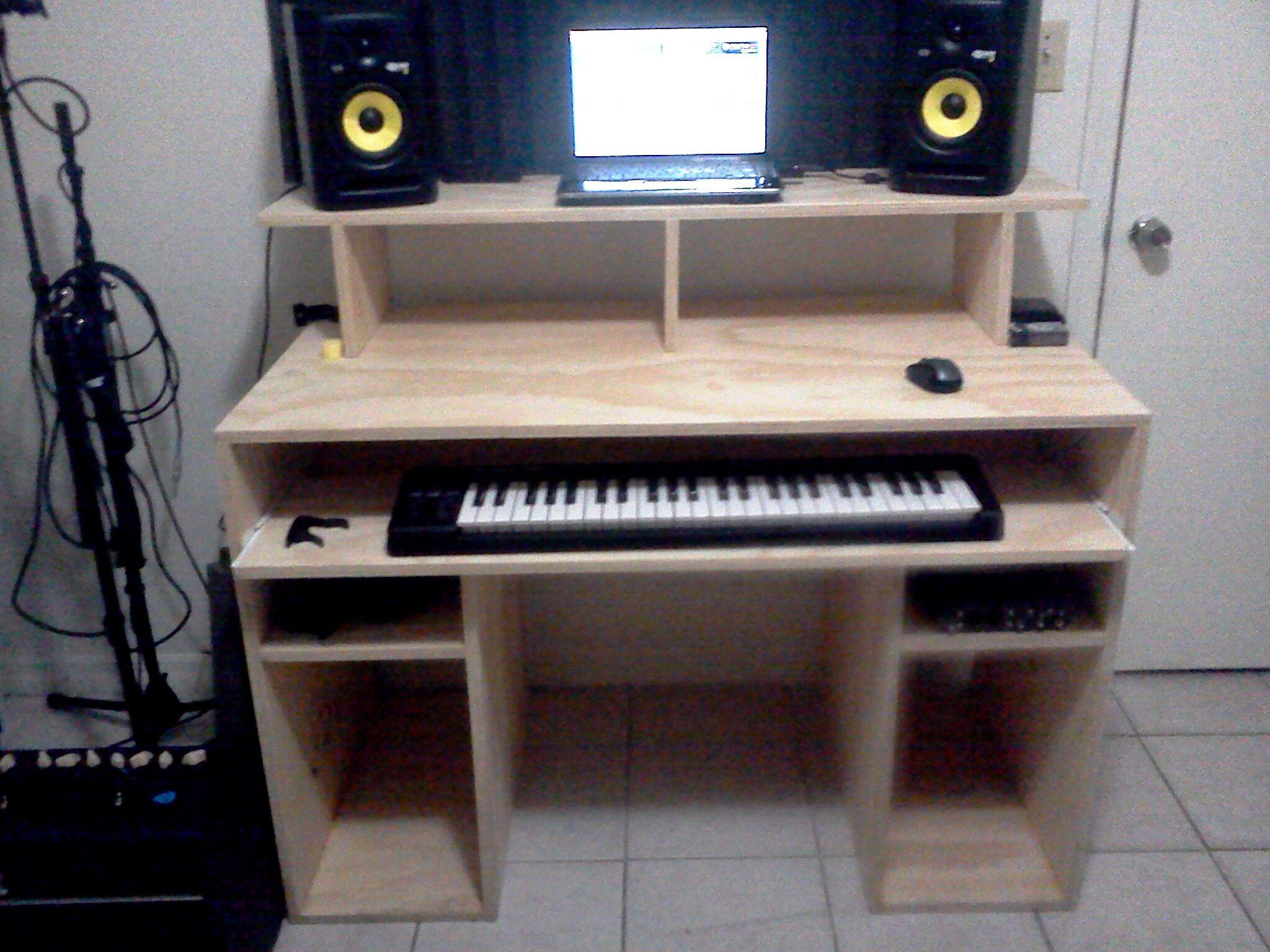 Recording Desk Interior Designing Organising