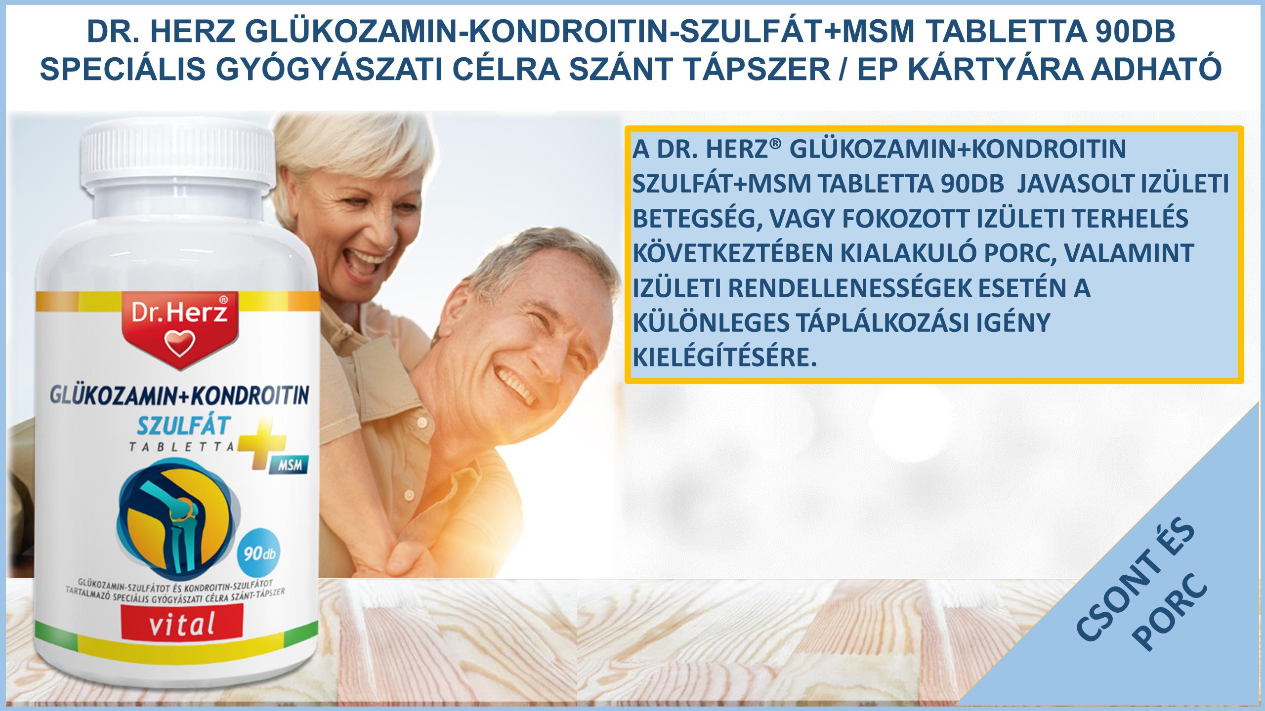 glükózamin készítmények emberek számára
