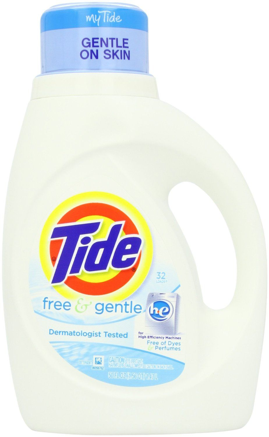 Amazon Tide He Free Gentle Deal Only 4 93 Per 50oz Bottle Free Shipping Gentle Laundry Detergent Tide Free And Gentle Laundry Detergent