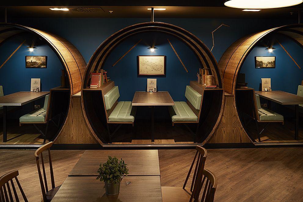 Spinning Jenny Nelson Design Cool restaurant design