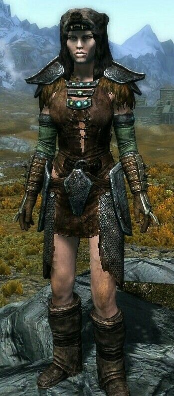 Huntress By Sage Ancient Nord Armor And Boots Stormcloak Officer