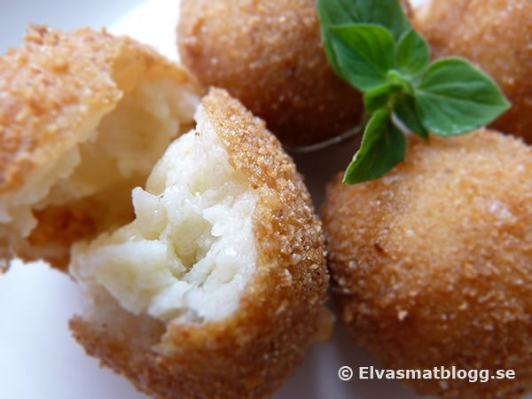 Spanish Tapas Fried Cheese Balls Food Cheese Ball Cheese Fries