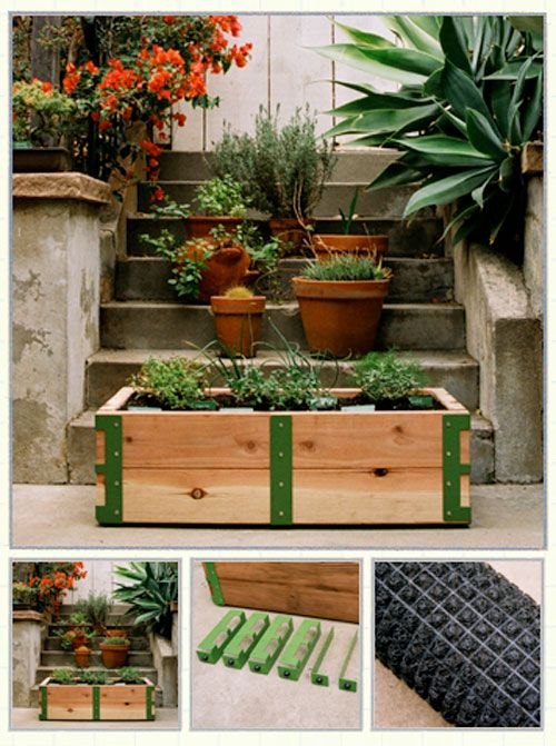 patio garden kit diy gardening pinterest huerta jardiner a rh ar pinterest com patio kitchen garden patio pickers garden kit