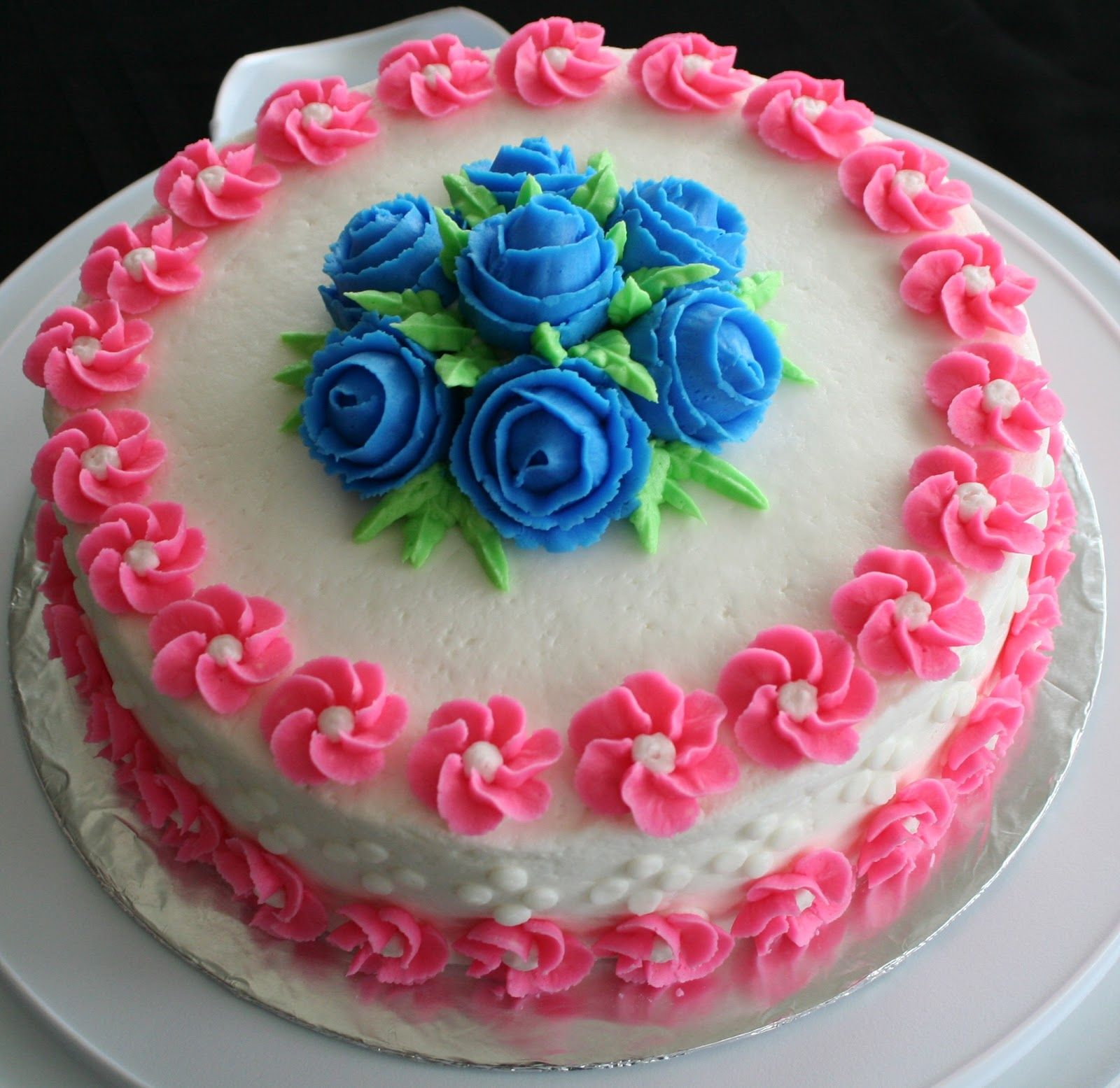 Birthday Cake Ideas Wilton : buttercream flowers - Google Search All about cakes ...