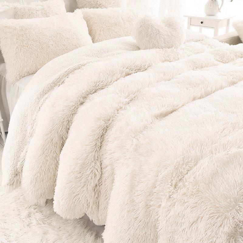Soft 160 200cm Long Blanket Bedding Shaggy Fuzzy Fur Faux Warm
