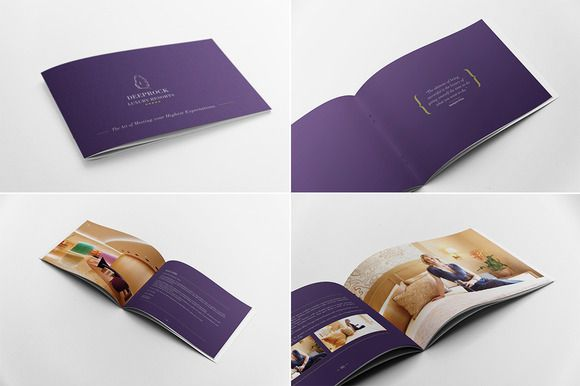 Hotel Brochure by Andre28 on Creative Market Blogging tips and - fashion design brochure template