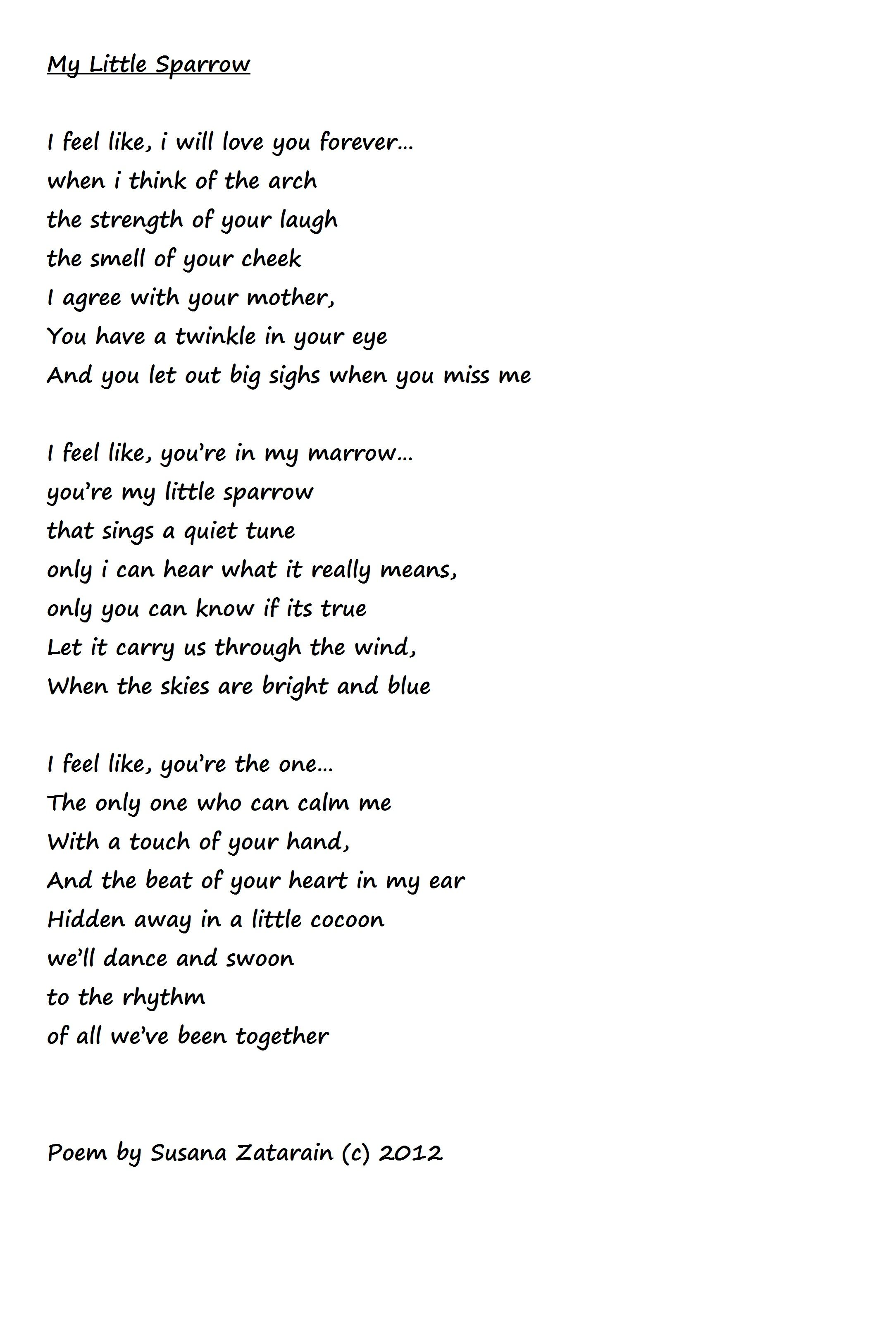 Cute Little Poems 2