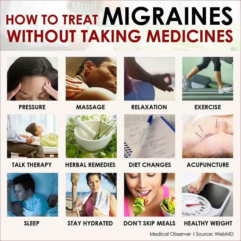 Migraines, chronic headaches (include anticonvulsant therapy as non-NSAID, non-narcotic option)