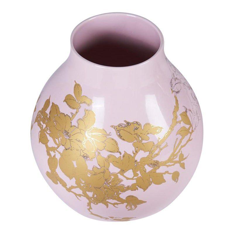 Hella Jongerius Pink And Gold Vase Gold Vases Vase Pink Gold