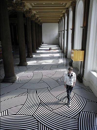 Floor Design 25 classy and elegant black & white floors | floor design