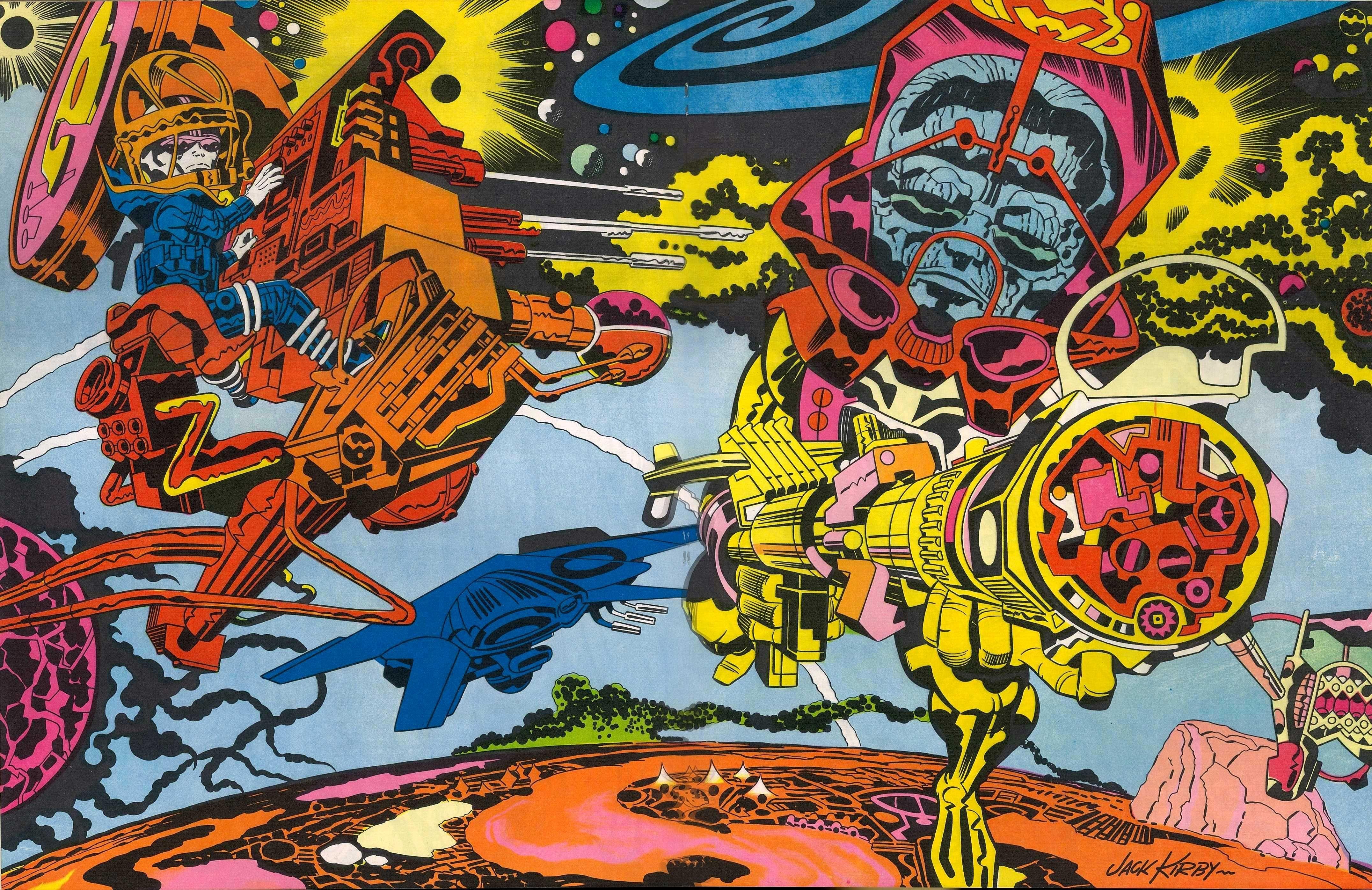 Complete Jack Kirby Portfolio from 1971! Jack kirby art