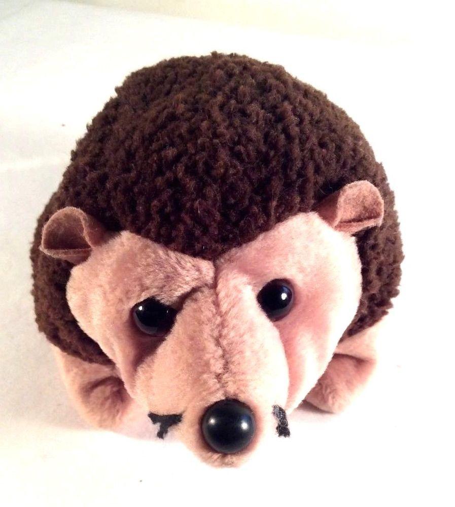 Ty Beanie Babies Plush Stuffed Animal Toy Brown 6 Prickles Hedgehog 1999 Ty Beanie Baby Hedgehog Plush Stuffed Animals Pet Toys [ 1000 x 897 Pixel ]