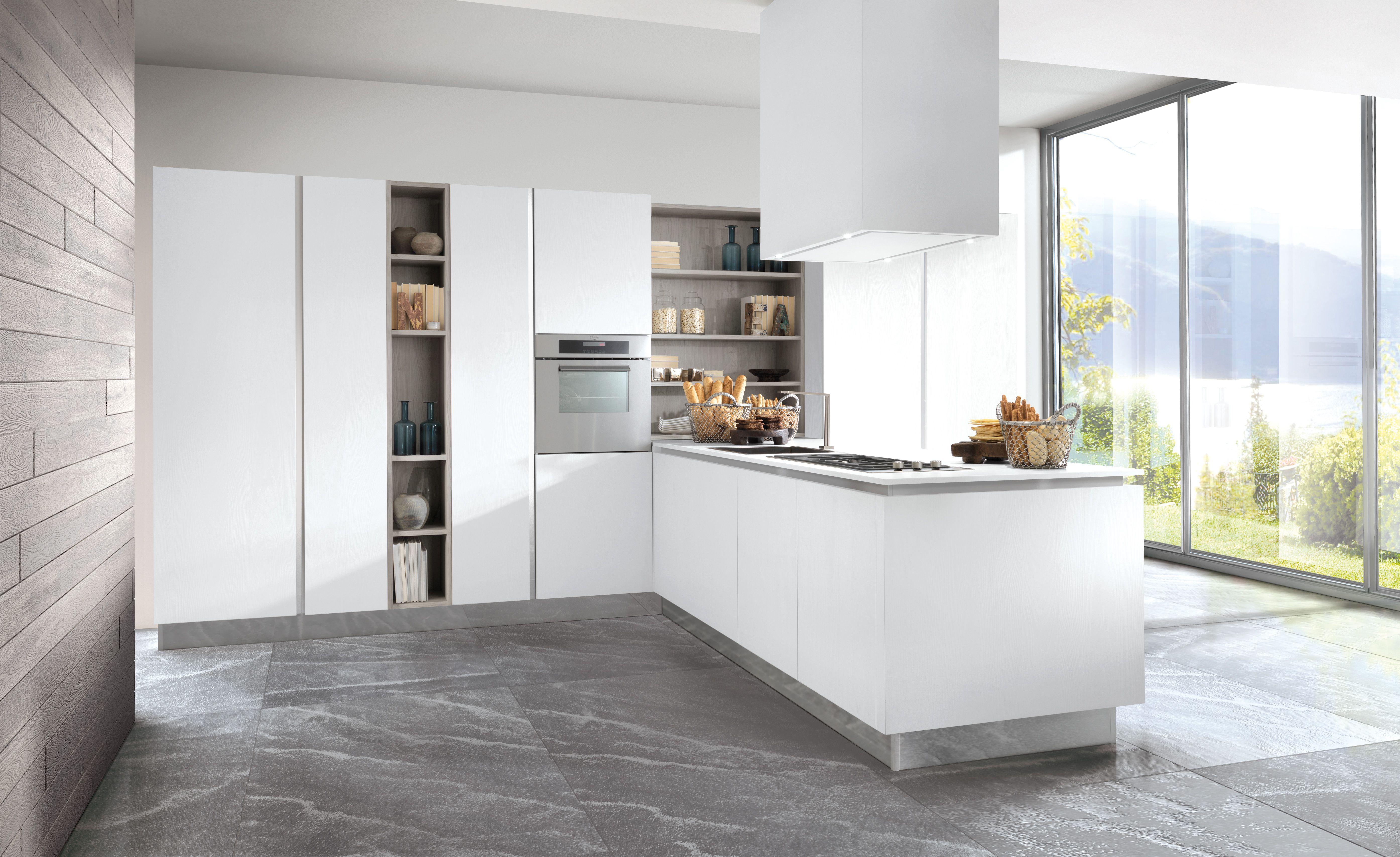 Camere Da Letto Moderne Berloni.Berloni B 50 Kitchen Solutions That Denote Aesthetic Incisiveness