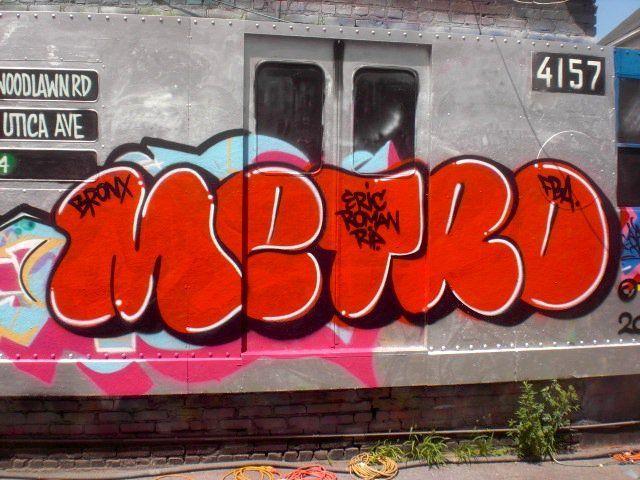 Throw Ups By Metro New York City Ny