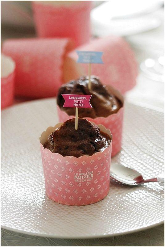 Muffins aux fruits rouges......