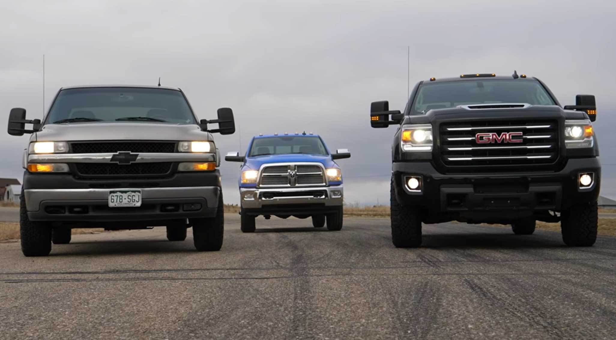 2018 Ram 2500 Takes On A GMC Sierra HD And Late-Model Chevy ...