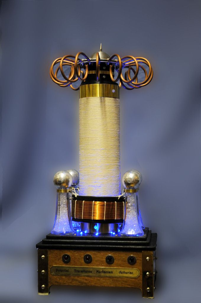 steampunk tesla coil - Google Search | The Beauty of ...