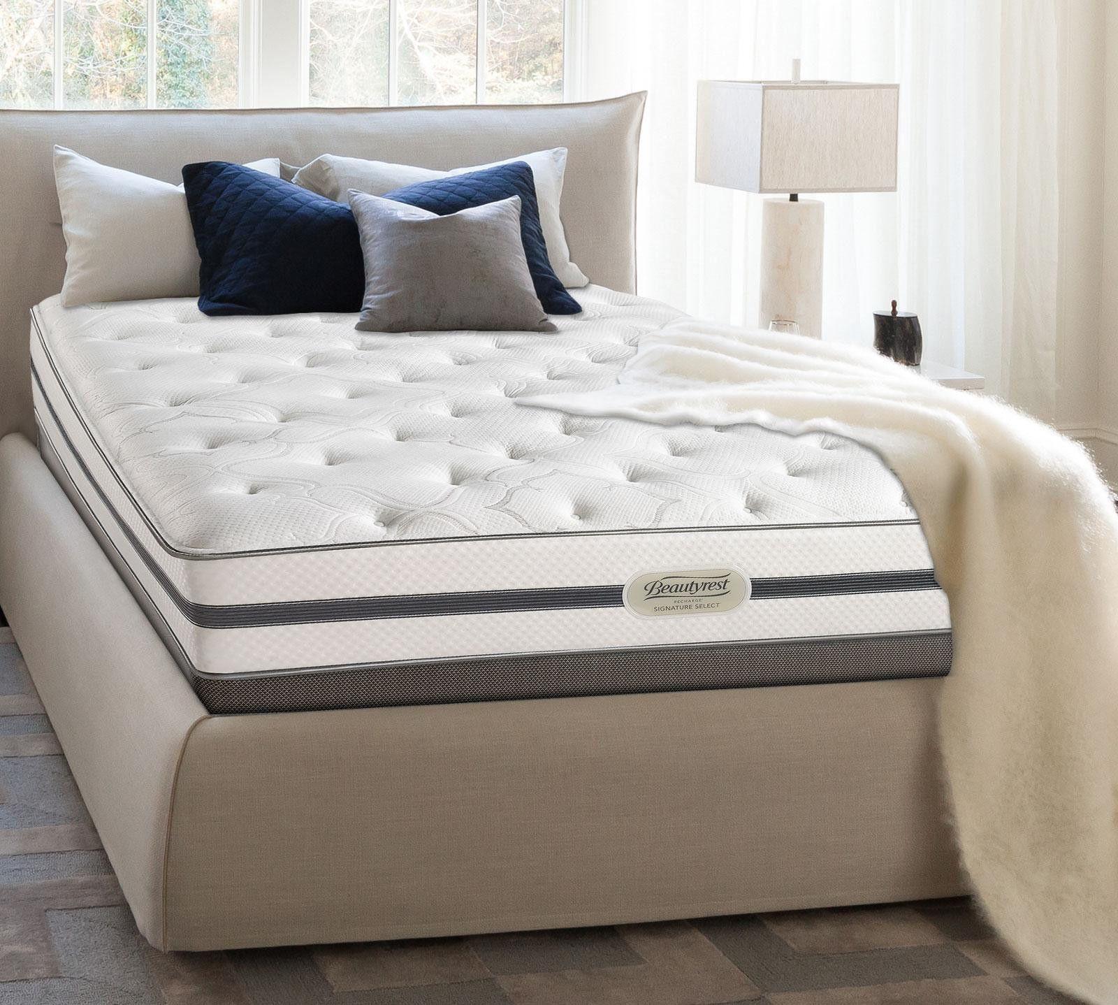 Simmons Beautyrest Pillow Top King Mattress Real Simple 20