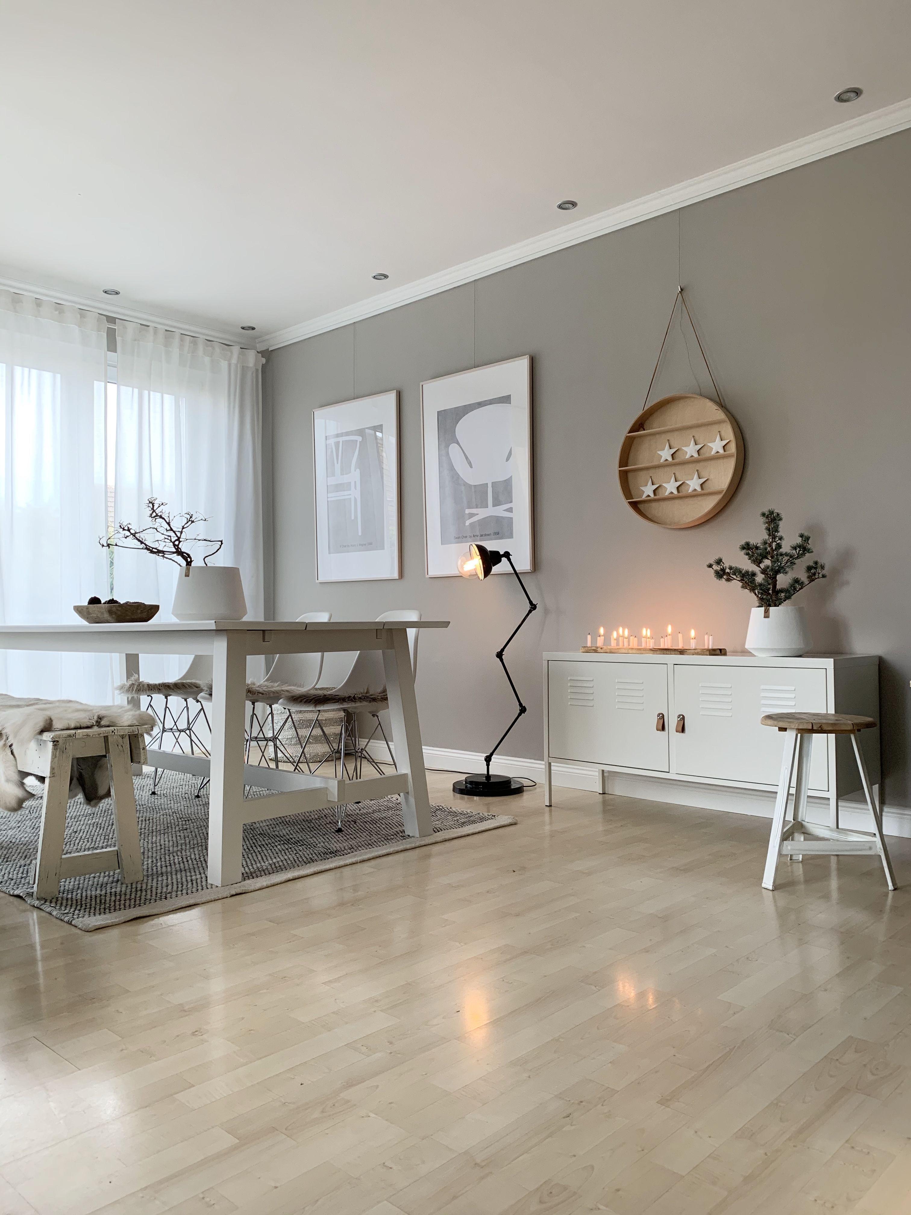 12 Wohnzimmer farben grau