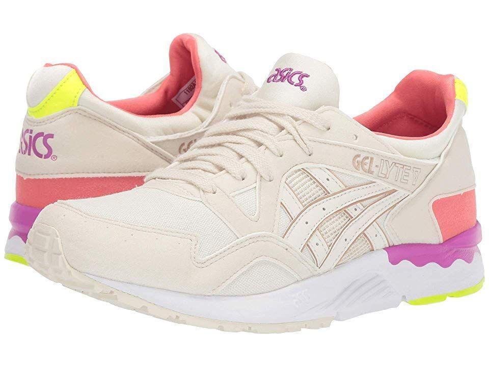 Asics Tiger Gel Lyte V Women S Shoes White Birch Asics Tiger Gel