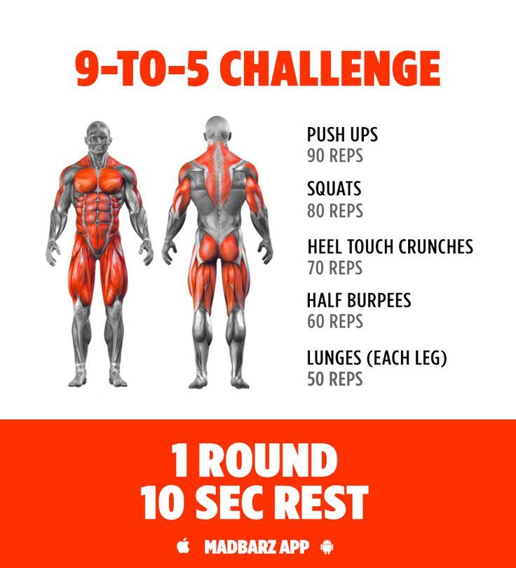 Try This No Equipment Workout Challenge For Building Muscle At Home