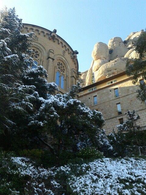 Monastir de Montserrat.  Catalunya