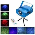 Laser Lights 7 Colors Led Stage Party Projector Strobe Water Ripples Lighting #waterripples