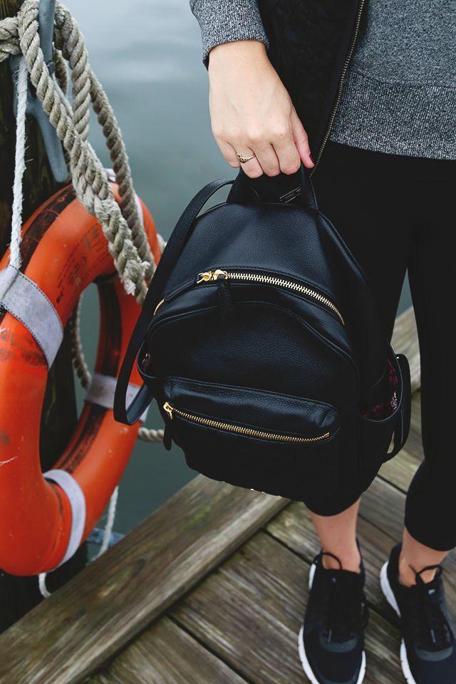 9a22bd66f9d0 Vera Bradley leather backpack