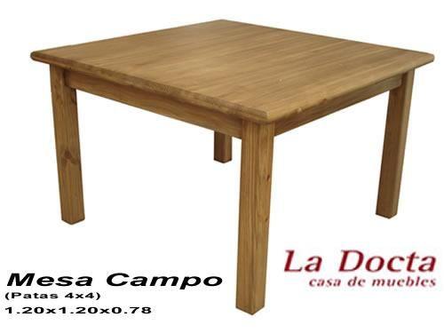 Medidas de mesa cuadrada de campo argentina muebles - Mesas de campo ...