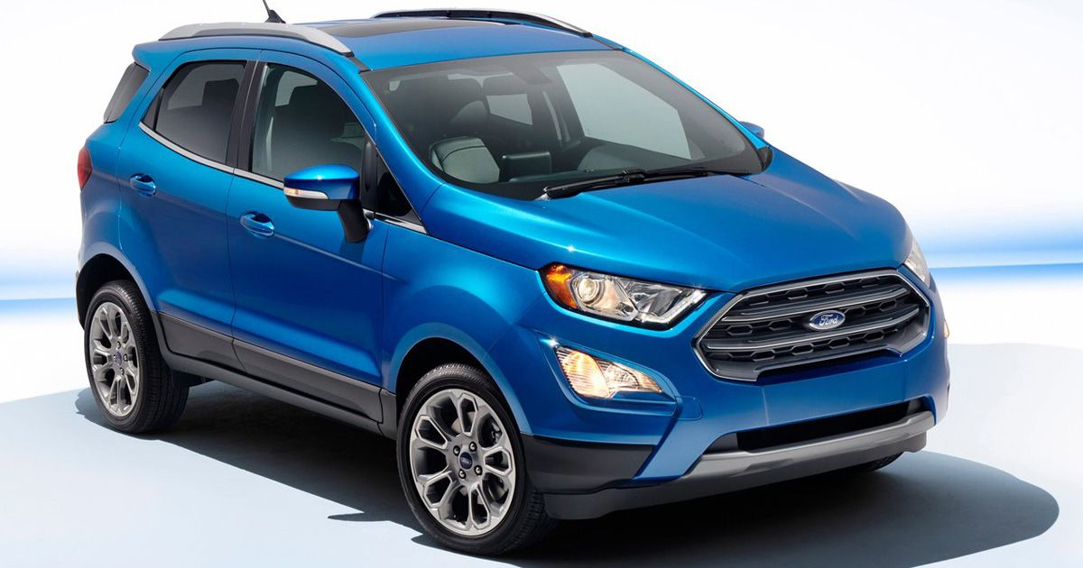 Fun Capable And Connected Ford Eco Sport Fordecosport Ford
