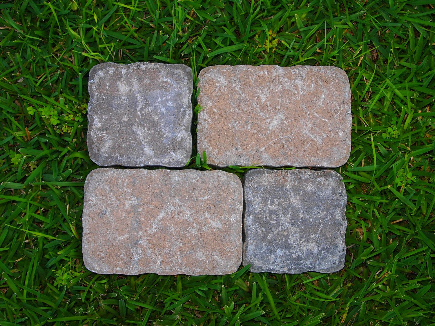 4 New Stepping Stone Or Paver Stone Molds Moulds Concrete Cement For Your  Patio Or Walkway