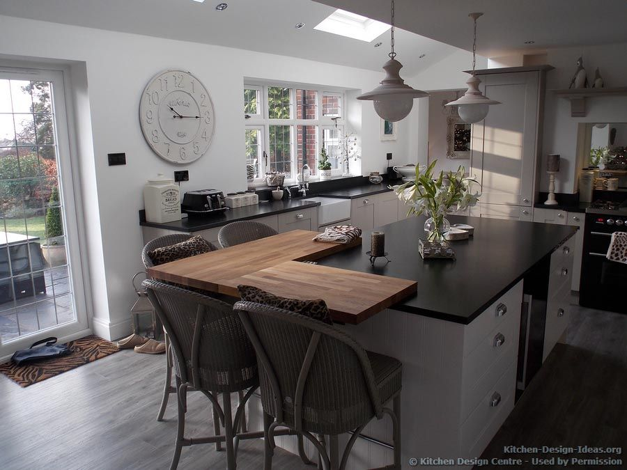 A Black Range Cooker In A Painted Shaker Kitchen From Kitchen Design Centre