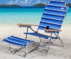Rio Sc796fr 1210 The Big Kahuna K2 Footrest Beach Chair Multi