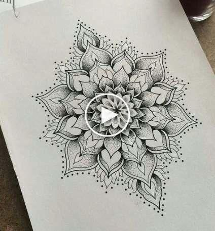 41+ Ideas For Tattoo Mandala Dotwork Black - Modern