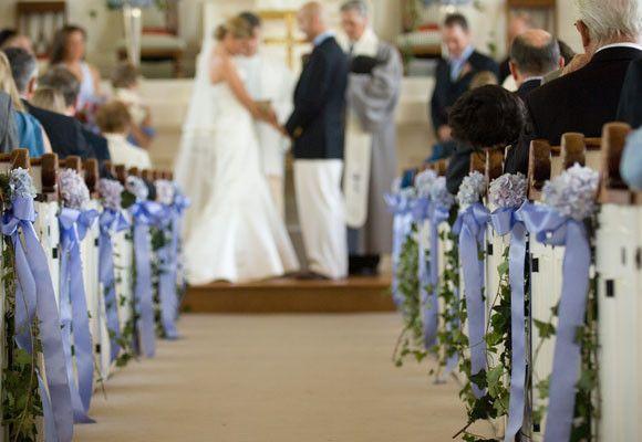 bodas una imagen un escaparate para la iglesia